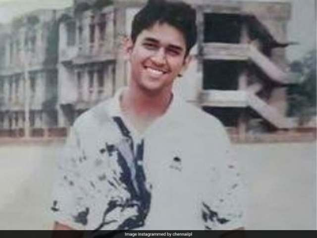 CSK Posts MS Dhoni Throwback Picture As