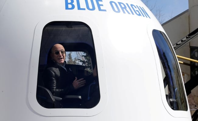 Blue Origin Auctions A Rocket Trip To Space With Jeff Bezos