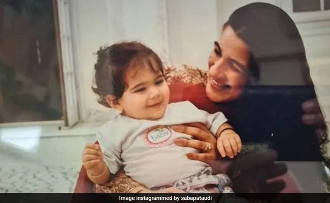 Sara Ali Khan And Amrita Singh In A Throwback Gem, Shared By Saif Ali Khan's Sister Saba