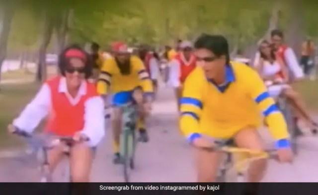 World Bicycle Day 2021: On Kajol's Kuch Kuch Hota Hai Post With Shah Rukh Khan, Karan Johar Recalls Her Accident