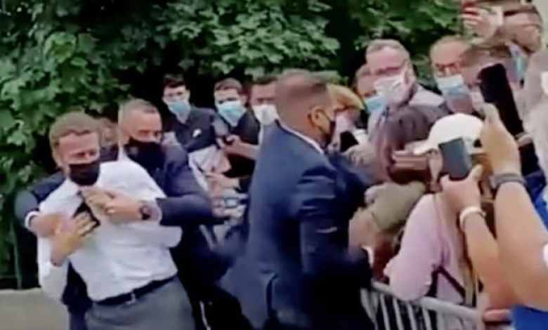 French Court Gives Man Who Slapped President Emmanuel Macron 4 Months In Jail: Report