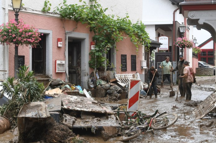 'Flood Of Death': Over 120 Killed In Europe, Most Of Them In Germany