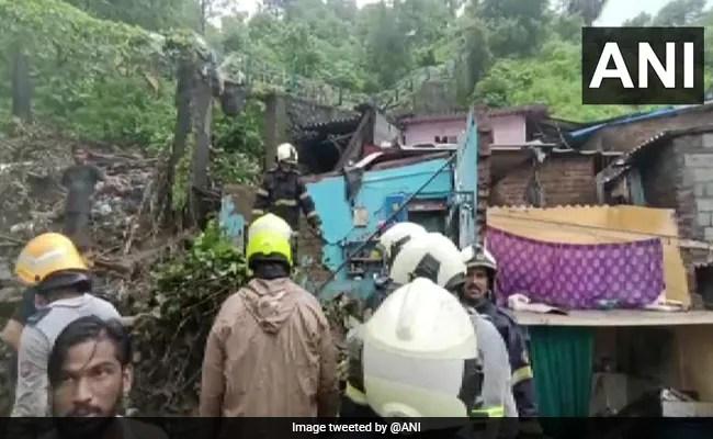 Mumbai Rains Updates: 10 Killed As Heavy Rains Cause Landslide In Mumbai's Chembur, Several Feared Trapped