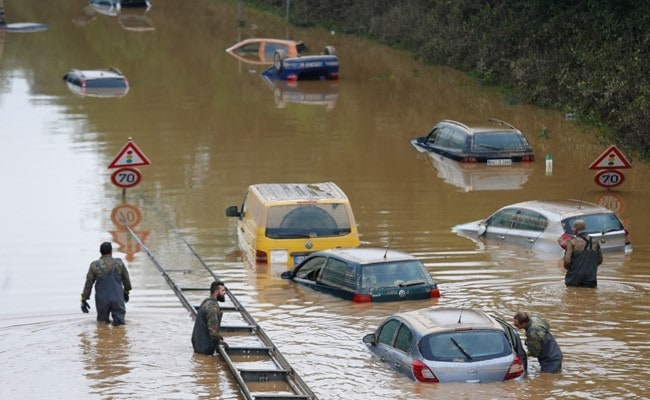 Death Count Rises To 168, Hundreds Missing In Germany, Belgium Floods