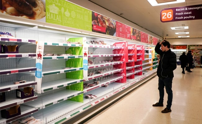 UK Grocers Warn Of Food Shortages Amid Covid 'Pingdemic'
