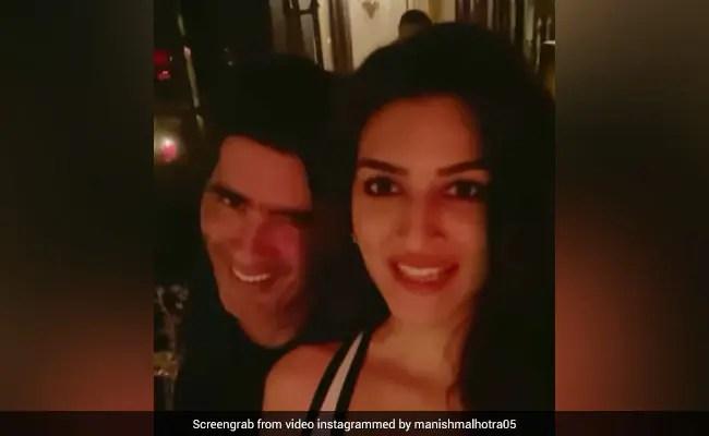Back When Kriti Sanon Was A Model In Delhi, Manish Malhotra Told Her This