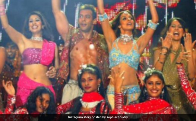 Salman Khan, Malaika Arora, Sophie Choudry And Anusha Dandekar From Way Back When