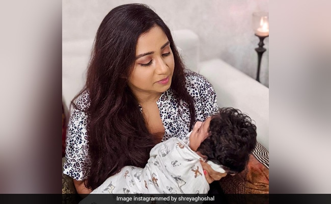 What Shreya Ghoshal Wrote For Baby Son Devyaan In New Post