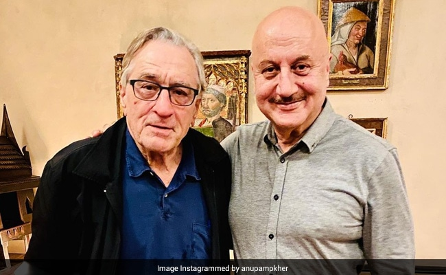 What Anupam Kher Wrote For 'The Godfather Of Acting' Robert De Niro On His 78th Birthday