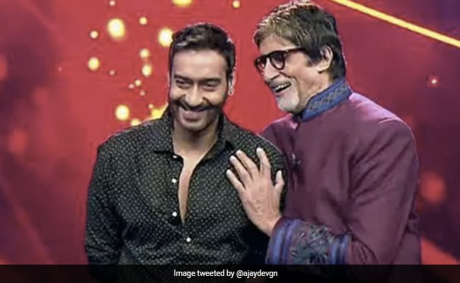 'We Are Nothing In Front Of Him': Ajay Devgn On Directing 'Dedicated Actor' Amitabh Bachchan In Mayday