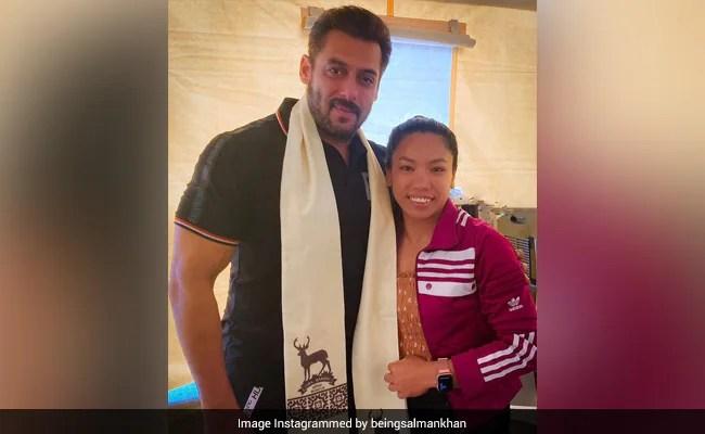 When Salman Khan Met 'Big Fan' Mirabai Chanu. See Viral Pic