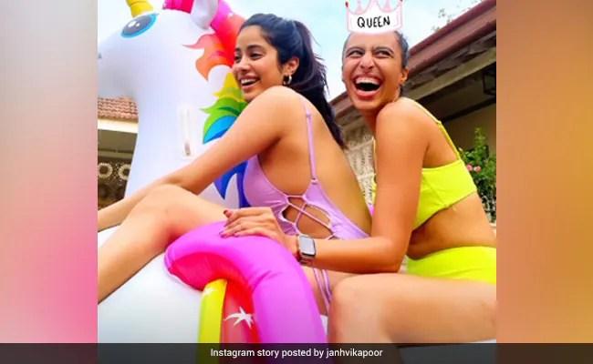 Janhvi Kapoor's Birthday Wish For Trainer Namrata Purohit Is Just Too Cute