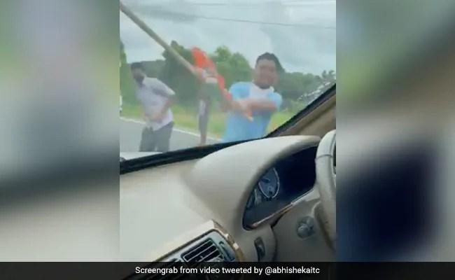 Mamata Banerjee's Nephew, On Mission Tripura, Says Car Attacked