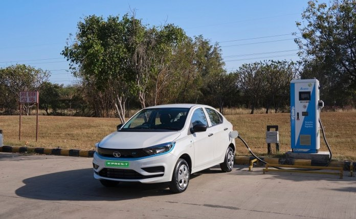 The first product launched under the brand is the re-badged Tigor EV, which is called the Xpres-T EV .  is called
