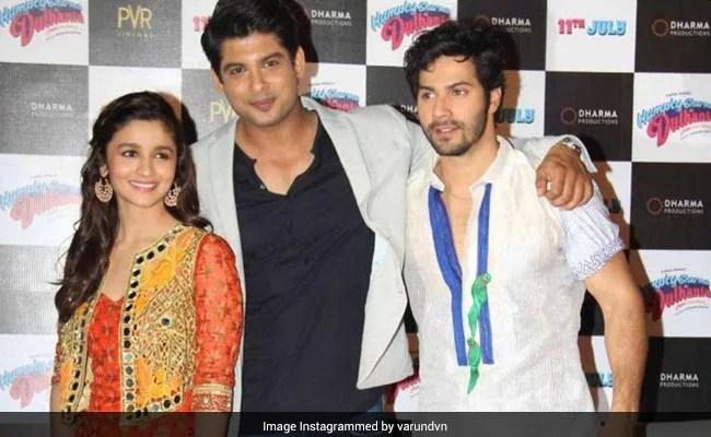 Sidharth Shukla's Humpty Sharma Co-Star Varun Dhawan Writes, 'Heaven Has Gained A Star'