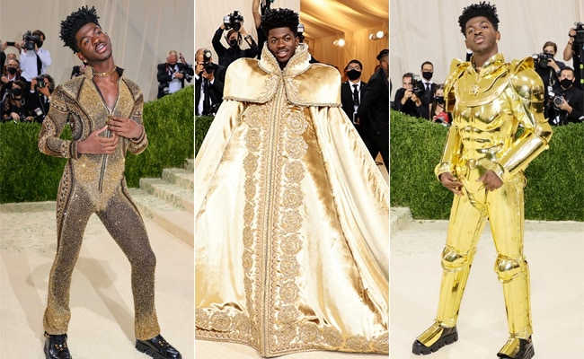 """Met Gala 2021: Lil Nas X """"Pulled A Lady Gaga"""" On The Red Carpet. Twitter  Knows"""
