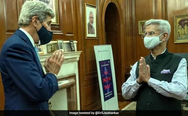 US Climate Envoy John Kerry, On 2-Day India Visit, Meets S Jaishankar