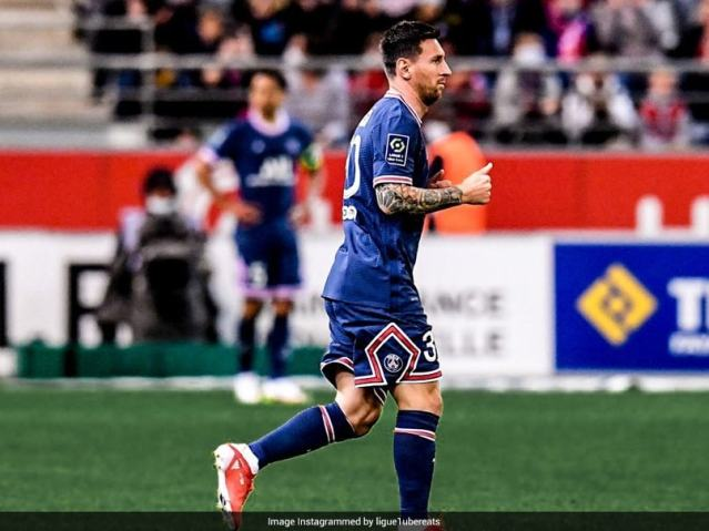 Champions League: Lionel Messi Gets First PSG Start Against Club Brugge