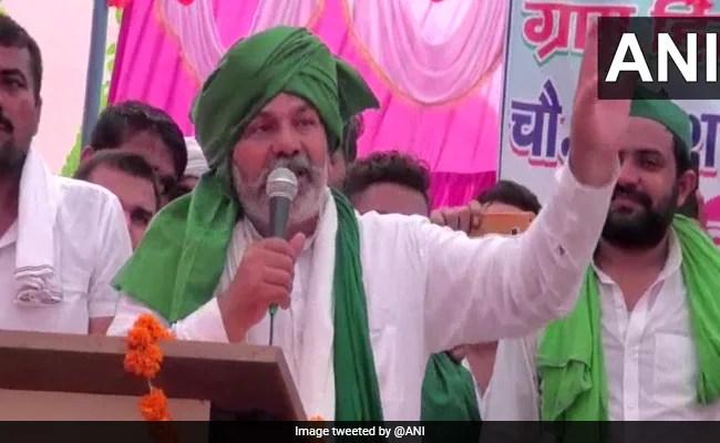Farmer Leader Rakesh Tikait's 'BJP's Chacha Jaan' Barb At Asaduddin Owaisi