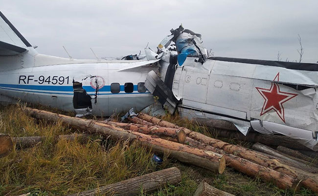 Fifteen Killed After Plane Crashes In Russia: Ministry