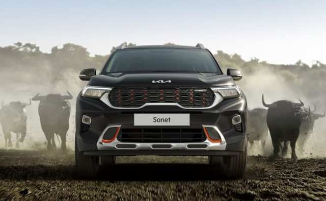 The styling of the limited edition Kia Sonet model is inspired by Aurochs, a large wild Eurasian bull