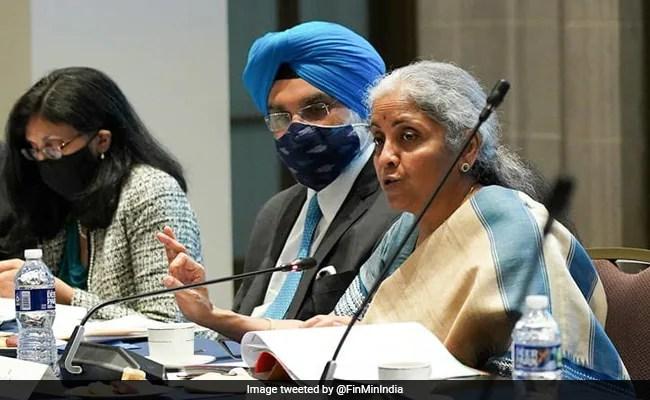 India Recognises Importance Of Universal Vaccination: Nirmala Sitharaman