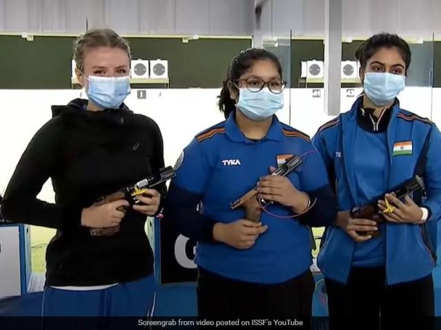 ISSF जूनियर विश्व चैम्पियनशिप: 14 साल की भारत की नाम्या कपूर ने महिला 25 मीटर पिस्टल गोल्ड जीता