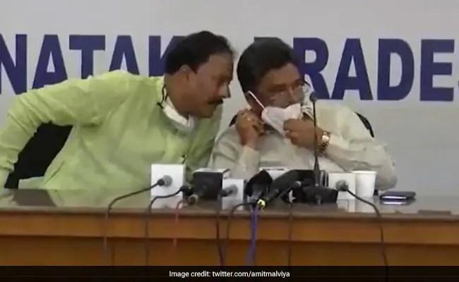 In Video, Karnataka Congress Leaders Discuss DK Shivakumar, Alleged Graft