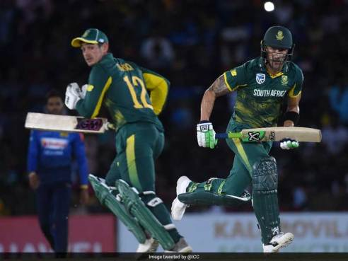 Image result for De Kock steers South Africa to 2-0 lead in Sri Lanka