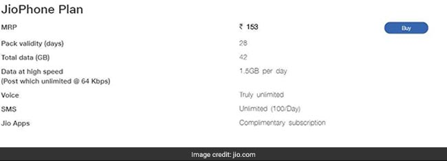Jio phone 153 rupee recharge, Jio phone recharge, Jio phone sale, Jio Diwali sale  Reliance Jio Phone 2 Festive Sale Begins (November 5, 2018), JioPhone Price, EMI, Delivery e2ja9t3o reliance jio 49 plan   jio website 625x300 02 August 18