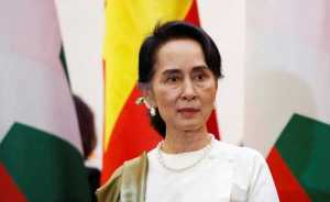 Firebomb attack at Aung San Suu Kyi Party Headquarters in Myanmar