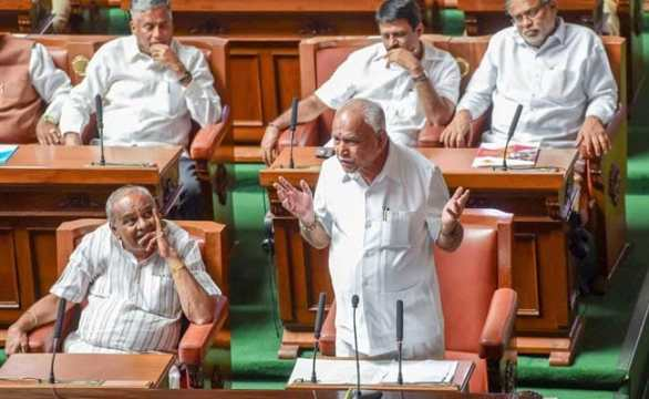 'I'm A Fighter': What BS Yeddyurappa Said In His Resignation Speech