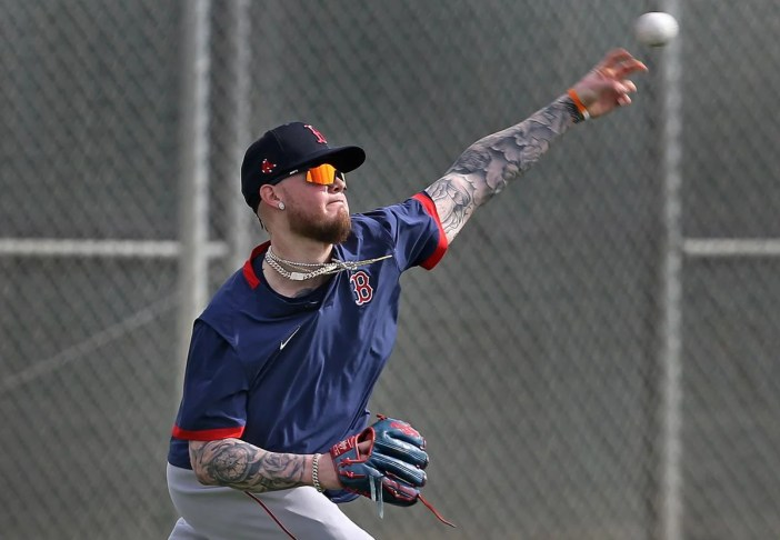 Red Sox' Alex Verdugo making progress in injury rehab