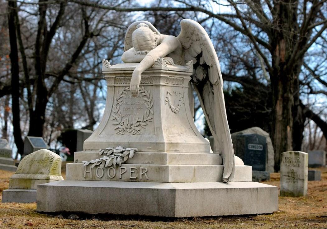 Hingham cemetery.