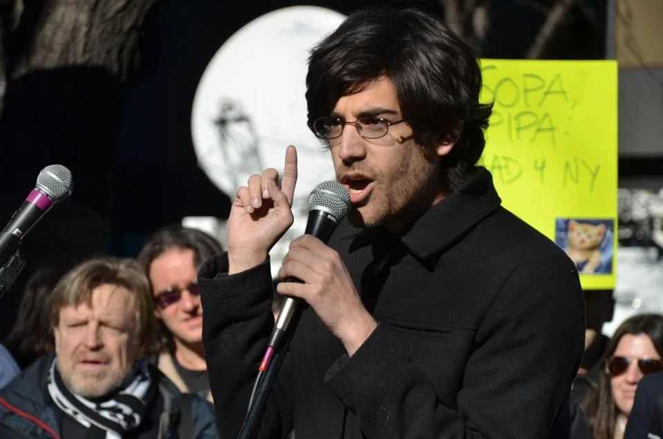Aaron Swartz, a brilliant young programmer and political activist, helped launch several progressive political groups and was a major force behind a national wave of protest against the Stop Online Piracy Act, which targeted unauthorized sharing of videos and music.