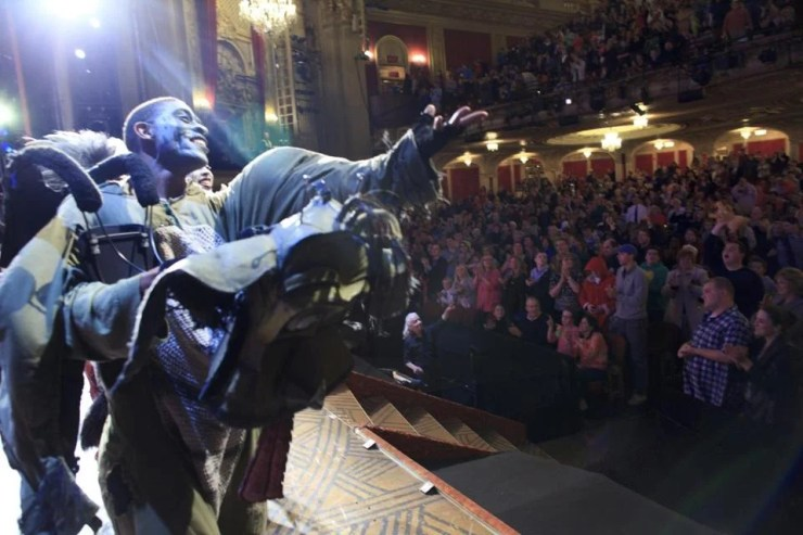 "Families packed the Boston Opera House for a sold-out and ""autism-friendly"" performance of ""The Lion King"" last Saturday afternoon. The performance is the most notable example yet in Boston of recent efforts by some theater groups to create more inclusive versions of their shows."