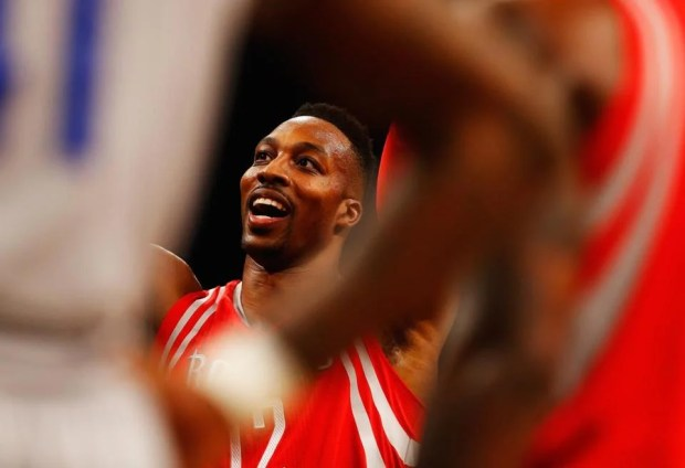 Dwight Howard is averaging 12.8 points per game.