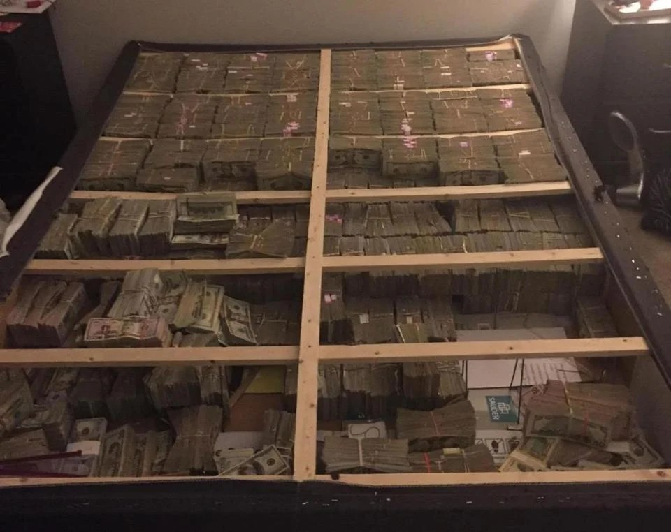 Man Who Led Authorities To Box Spring Stuffed With 175m