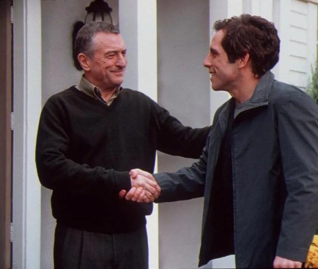 Robert De Niro Left And Ben Stiller Starred In The 2000 Comedy Meet