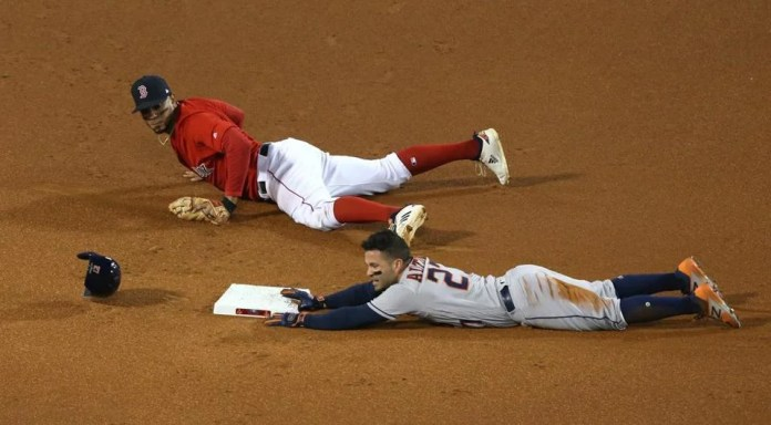 Jose Altuve was called immediately after a meeting.