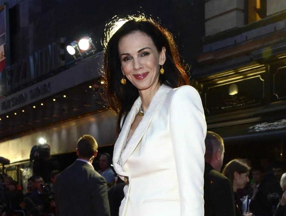 "FILE - This Oct. 18, 2012 file photo shows L'Wren Scott at the London Film Festival American Express Gala for ""The Rolling Stones - Crossfire Hurricane"", in London. Scott, a fashion designer, was found dead Monday, March 17, 2014, in Manhattan of a possible suicide. (Photo by Jon Furniss/Invision, File)"