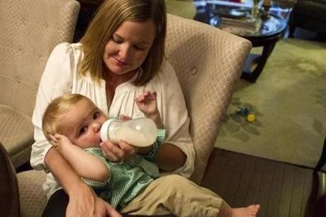 Stacie Chapman's son was born healthy, despite the results of a prenatal screening.