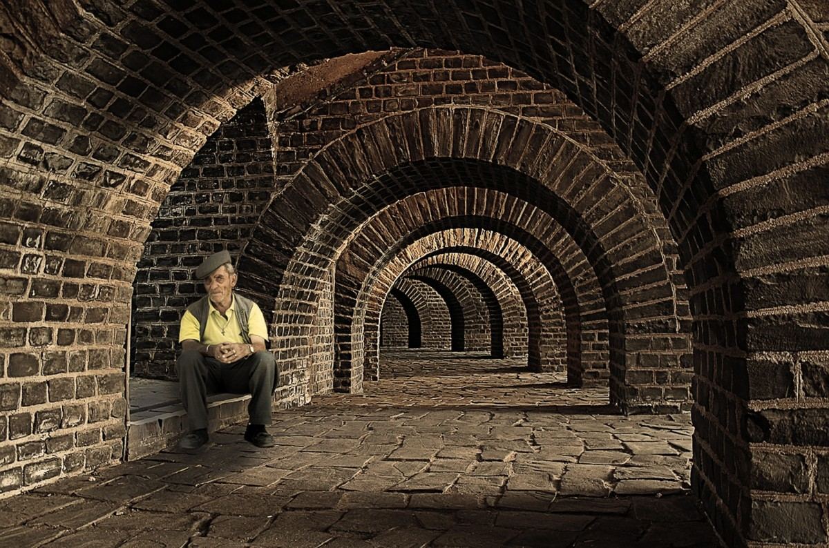 Free Images Architecture Wall Stone Tunnel Arch