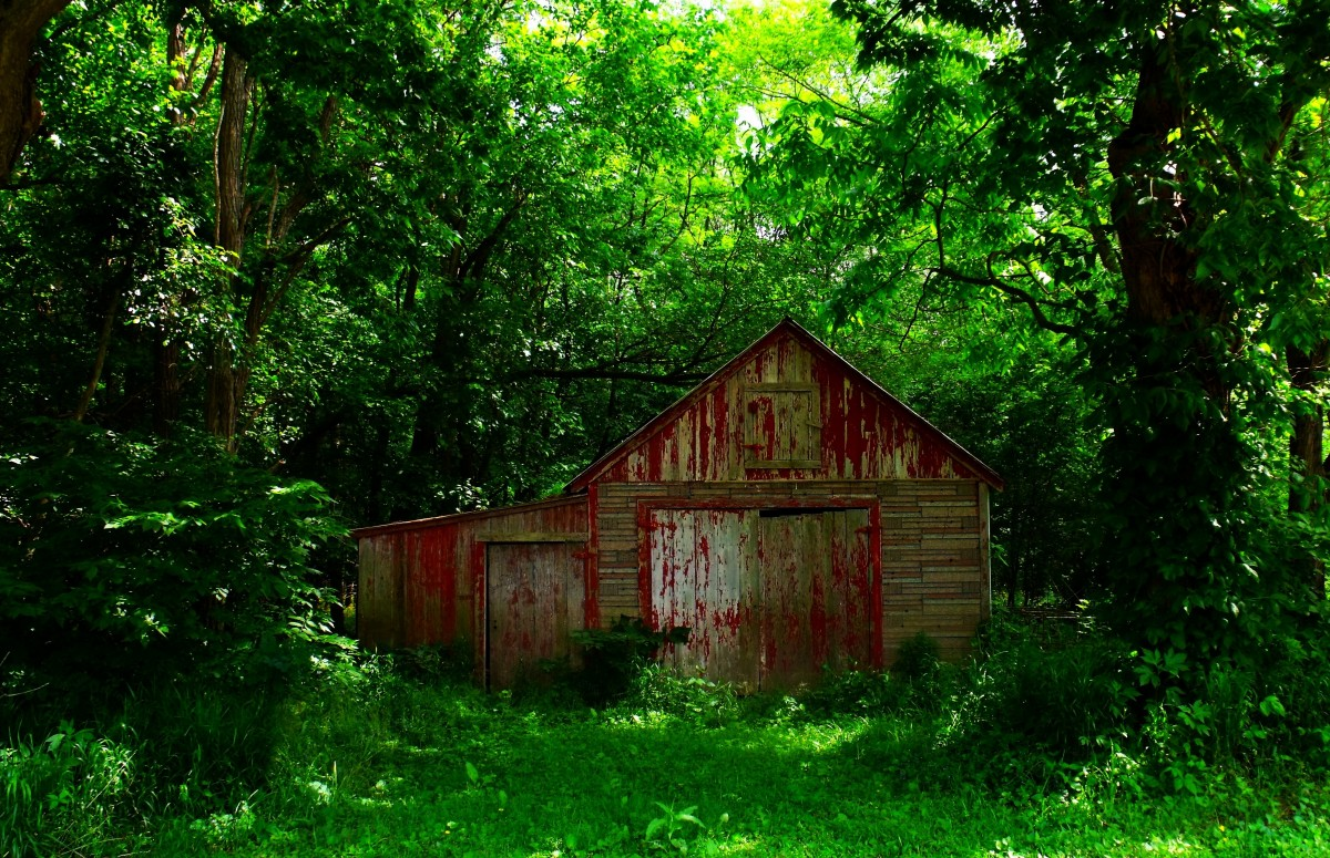 Backgrounds Of New England Barns
