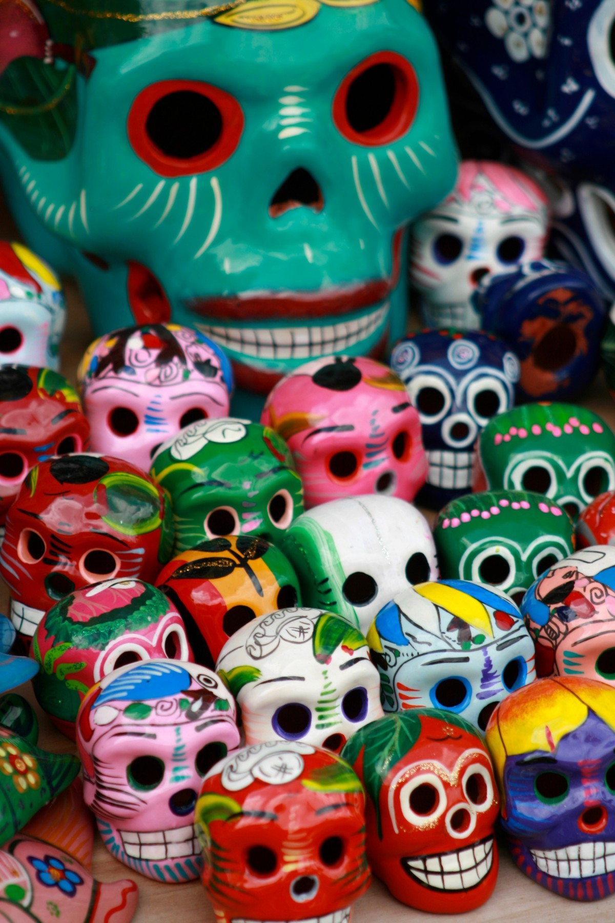 Free Images Color Dead Bead Skull Painting Art