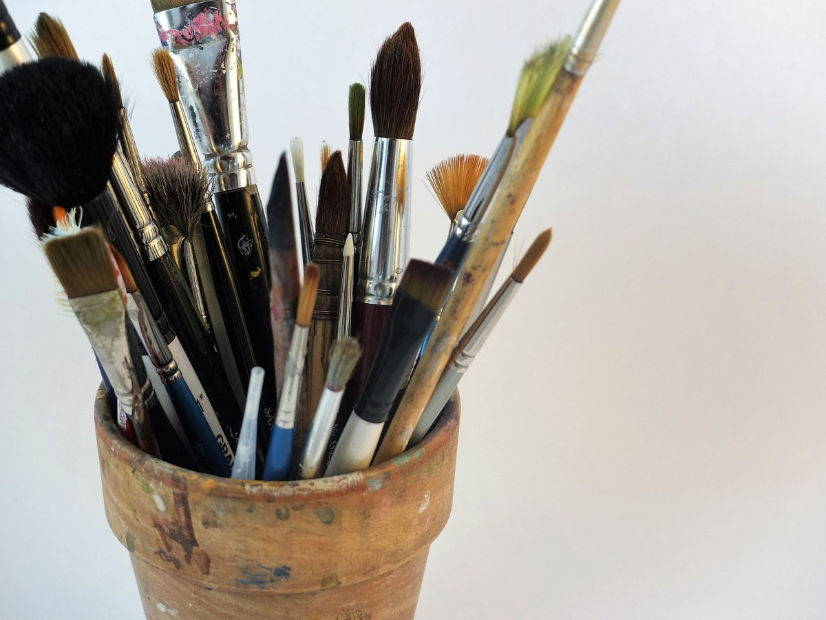 Free Images Work Creative Brush Tool Equipment