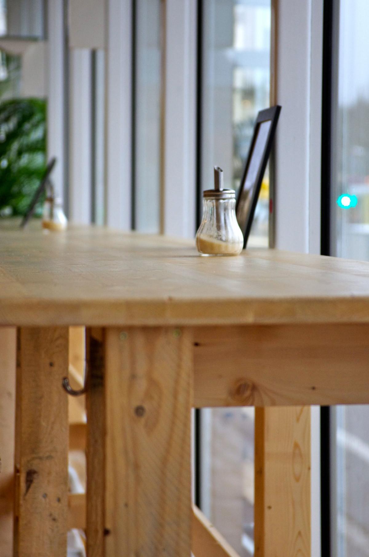Gambar Kafe Lantai Jendela Restoran Rumah Dapur