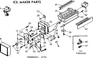 Kenmore Coldspot Model 106 Parts Diagram  Wiring Diagram