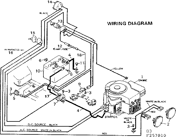 Wiring Diagram Poulan Lawn Tractor The Wiring – Lawn Tractor Wiring Diagram