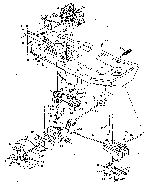 Lawn Mower Ignition Switch Diagram